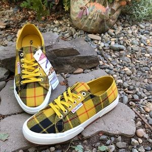 c89923eb5f77 Superga Shoes - Superga Fantasia Tartan Print Sneaker